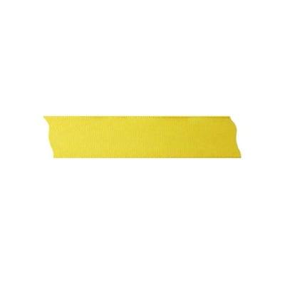 Лента декоративна UNIBAND, 25 mm, 10m, жълта