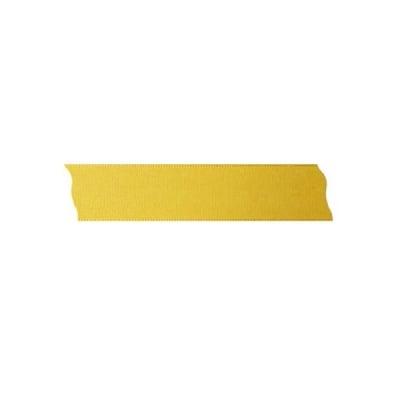 Лента декоративна UNIBAND, 25 mm, 10m, светло жълта