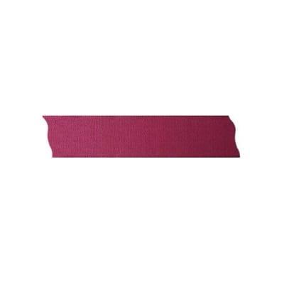 Лента декоративна UNIBAND, 25 mm, 10m, вишнево червена