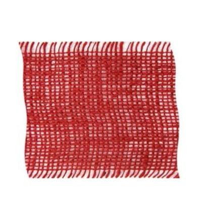 Лента конопена, 100 mm, 10m, червена