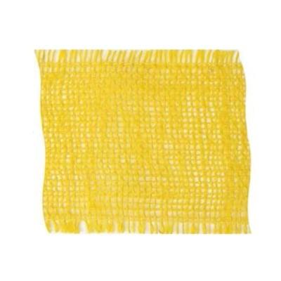 Лента конопена, 100 mm, 10m, жълта