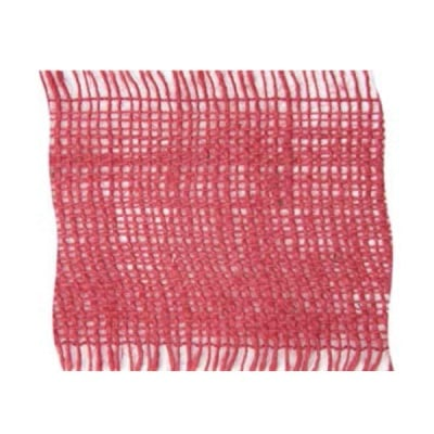 Лента конопена, 100 mm, 10m, розова