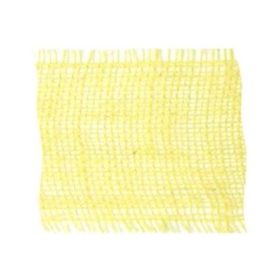 Лента конопена, 100 mm, 10m, светло жълта