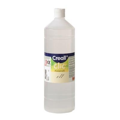 Лепило прозрачно универсално CREAL Clic, 1000 ml