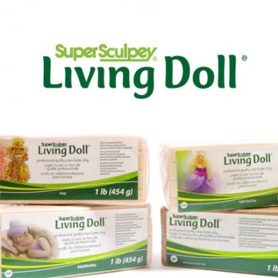 Полимерна глина Living Doll Super Sculpey