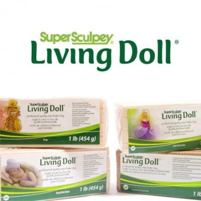 Полимерна глина Living Doll Super Sculpey