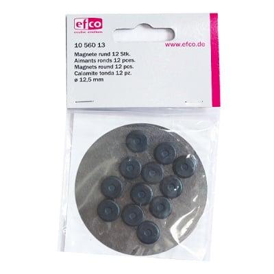 Магнити, кръгли, 12,5 мм, 12 бр.