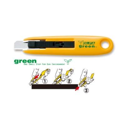 Макетен нож, OLFA SK 7 GREEN, 18 mm, LB, LBB
