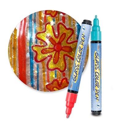 Маркер за стъкло Glass Color Pen, връх 2-4 mm