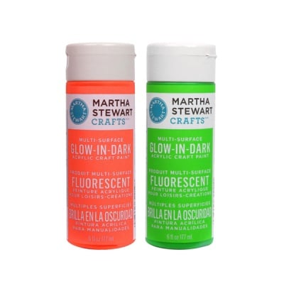 Акрилни бои Martha Stewart, Glow in the Dark, 177 ml