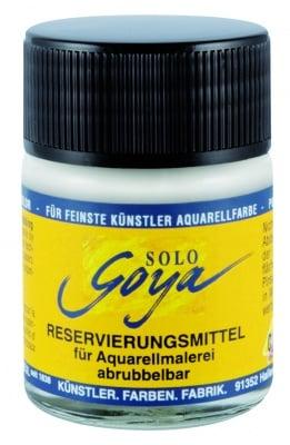 Маскиращ медиум за акварелни бои SOLO Goya, 50ml