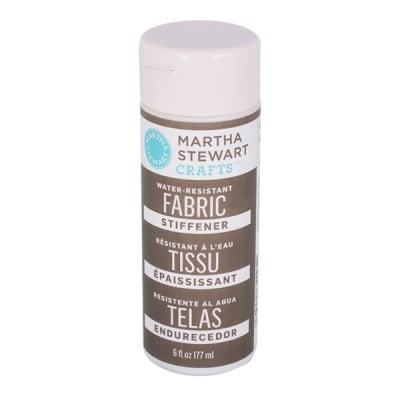 Медиум водоустойчив Martha Stewart, Fabric Stiffener, 177 ml