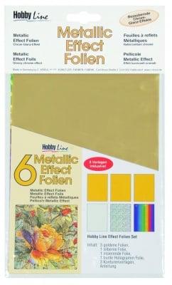 Металик трансферно фолио, Metallic Effect Folien Set Classic