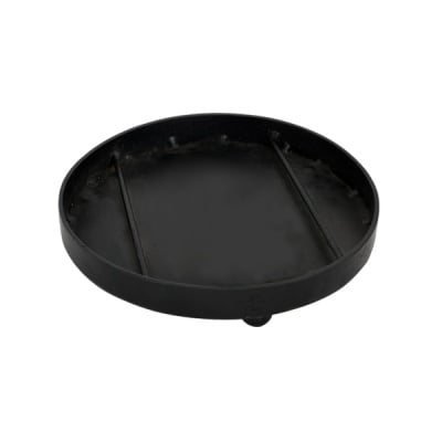 Метална кръгла поставка Mosaix, ø 16 x 3,3 cm, черна