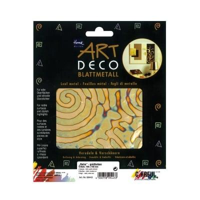 Метални листи ART Deco, 140 х 140 mm, 6л, ретро