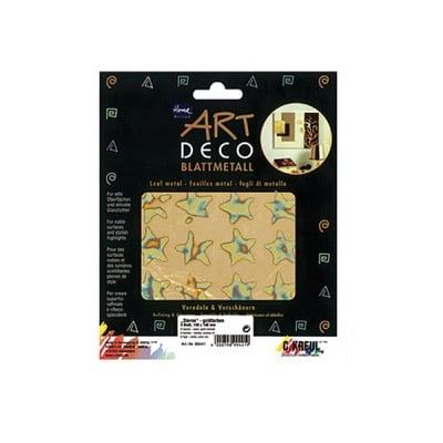 Метални листи ART Deco, 140 х 140 mm, 6л, звезди