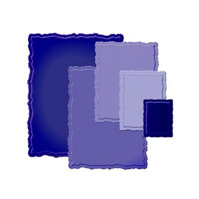 """Метални шаблони за изрязване на хартия """"Nestabilities"""", ~ 2,5 x 3,5 - 8 x 10 cm,"""