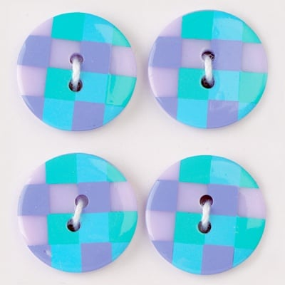 Мини конфети,каре 21 mm, 6бр., разноцветни