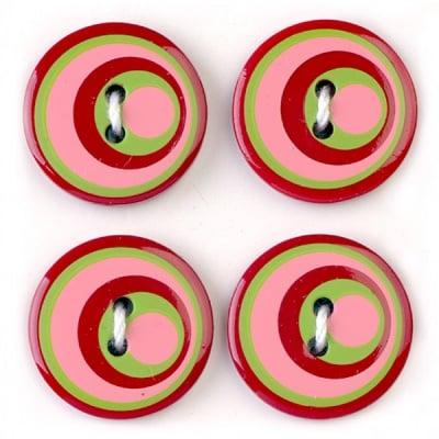 Мини конфети,кръгове, 21 mm, 6бр., разноцветни