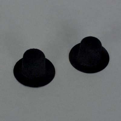 Миниатюра, цилиндър, 30 x 15 mm, 2 бр. черен