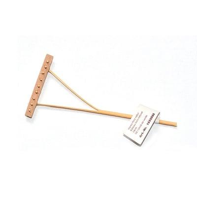 Дървен търмък - миниатюра, 14 cm