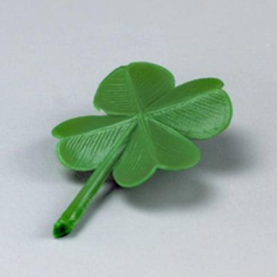 Миниатюрa, детелина 28 mm, 8 бр., зелена