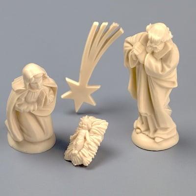 Рождество Христово - миниатюра, 40 mm, 4 части