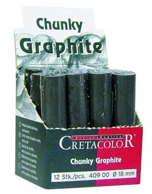 Монолитна сърцевина CretaColor, Chunky Graphite
