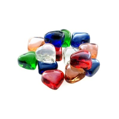 Glas-Nuggets, сърца, 200 g, 15 бр., микс