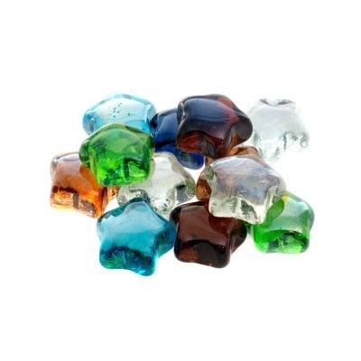 Glas-Nuggets, звезди, 200 g, 15 бр., микс
