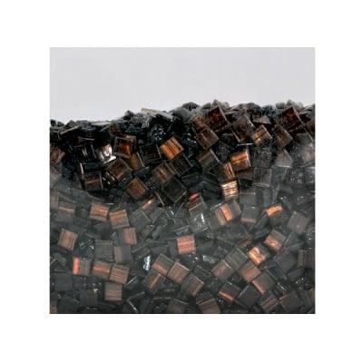 Мозаечни плочки GoldLine, стъкло, 25x5 mm, 1500 бр., черни