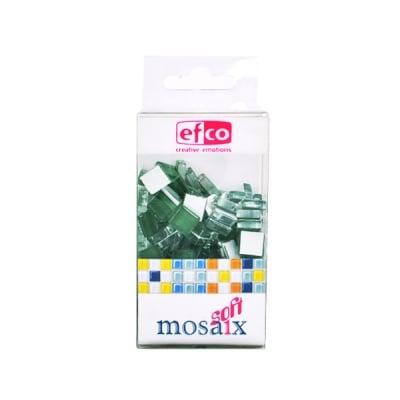 Мозаечни плочки MosaixSoft, стъкло, 10x10x4 mm, 200 бр.