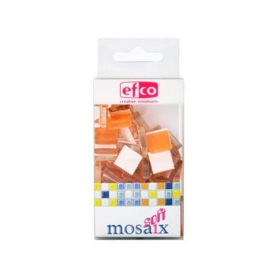 Мозаечни плочки MosaixSoft, стъкло, 15x15x4 mm, 90 бр.