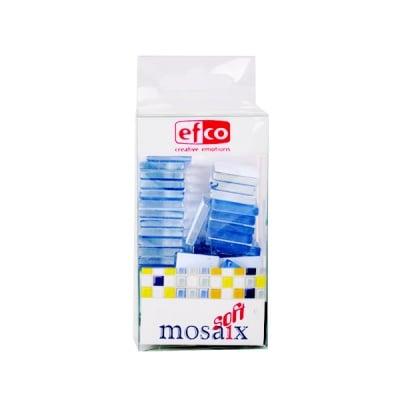 Мозаечни плочки MosaixSoft, стъкло, 20x20x4 mm, 40 бр.