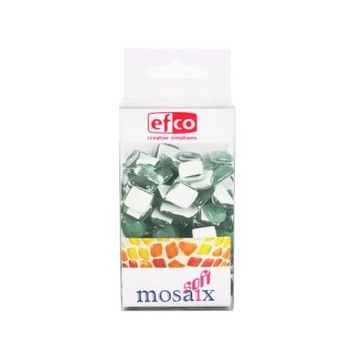 Мозаечни плочки MosaixSoft, стъкло, 25x5 mm, 140 бр., зелени