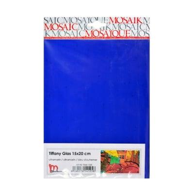 Мозаечни плочки TIFFANY Glass, 150x200x4 mm, 1 бр., морско синьо