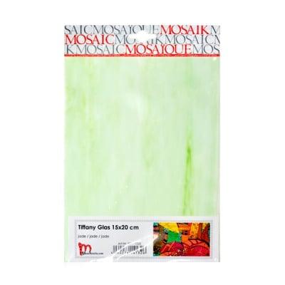 Мозаечни плочки TIFFANY Glass, 150x200x4 mm, 1 бр., нефритенозелено