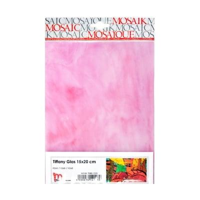 Мозаечни плочки TIFFANY Glass, 150x200x4 mm, 1 бр., розово