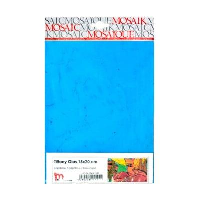 Мозаечни плочки TIFFANY Glass, 150x200x4 mm, 1 бр., синьо капри