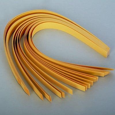 Набор ленти за празнични звезди, 130 g/m2, 1,5 x 45 cm, 80 л., златни