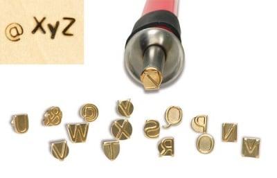 Накрайник за пирограф-поялник, Букви от M до Z, 16 части