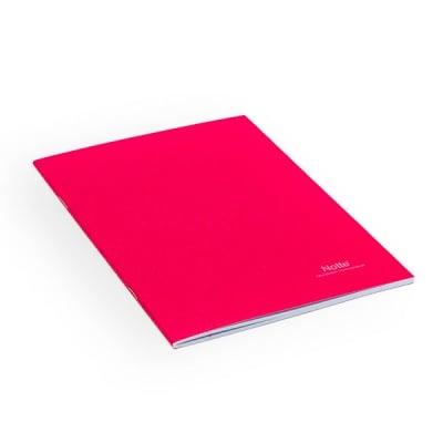 Тетрадка Notte School, A5, 40 л., ред, 60 g/m2