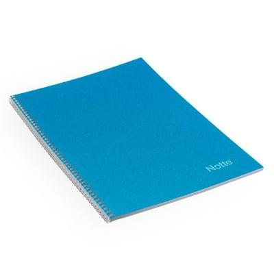 Тетрадка Notte Pastel, A4, спирала, Flexy корица, 60 л., квадрат, 60 g/m2