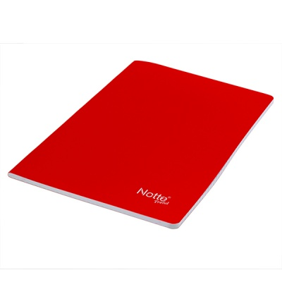 Тетрадка Notte Trend, A4, PP корица, 80 л., ред, 60 g/m2