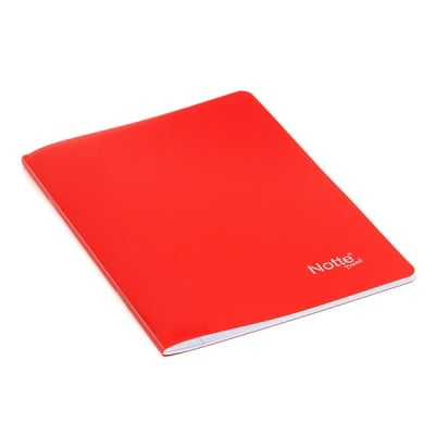 Тетрадка Notte Trend, A5, PP корица, 40 л., ред, 60 g/m2