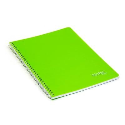Тетрадка Notte Trend, A5, спирала, PP корица, 60 л., ред, 60 g/m2