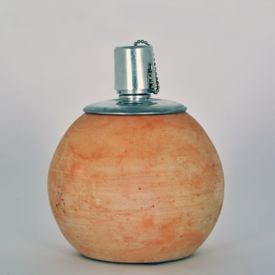 Основа за изработване на мозайка, керамична газена лампа