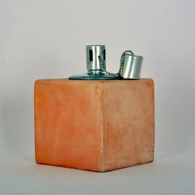 Основа за изработване на мозайка, керамична лампа куб,