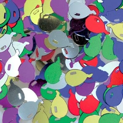 Пайети, Ballon, 12 mm, ~ 1000 бр., микс