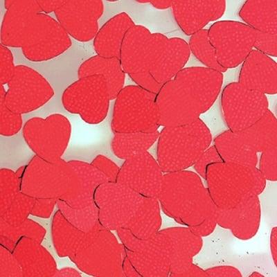 Пайети, Herz, 8 mm, ~ 1000 бр., червени